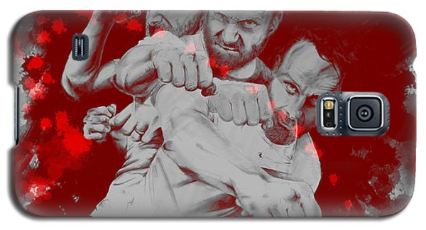 Rick Grimes Galaxy S5 Case by David Kraig
