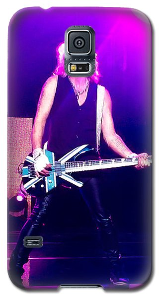 Rick Savage Of Def Leppard Galaxy S5 Case by David Patterson