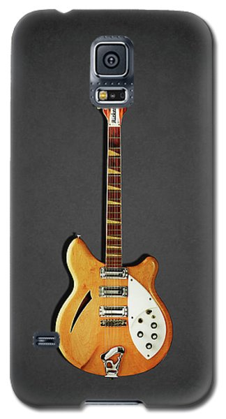 Music Galaxy S5 Case - Rickenbacker 360 12 1964 by Mark Rogan