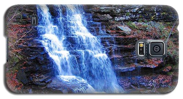 Ricketts Glen Waterfall 3941  Galaxy S5 Case