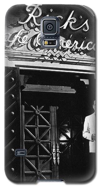 Ricks Cafe Americain Casablanca 1942 Galaxy S5 Case