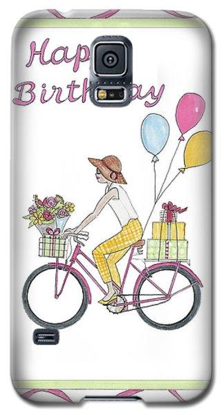 Ride In Style - Happy Birthday Galaxy S5 Case