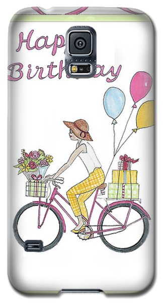 Ride In Style - Happy Birthday Galaxy S5 Case