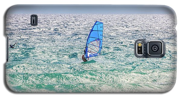 Galaxy S5 Case featuring the photograph Ride The Waves, Scarborough Beach by Dave Catley