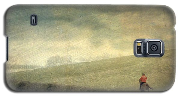 Rider In The Storm Galaxy S5 Case by LemonArt Photography