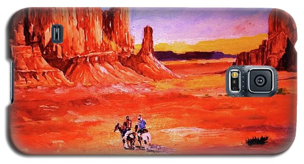 Riders In The Valley Of The Giants Galaxy S5 Case