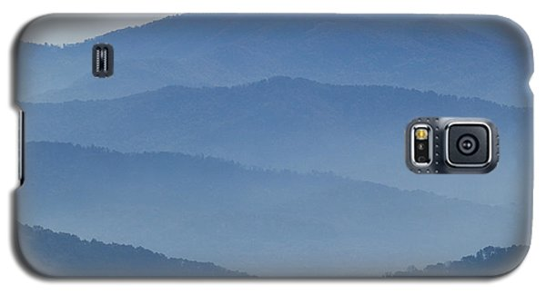 Ridgelines Great Smoky Mountains Galaxy S5 Case
