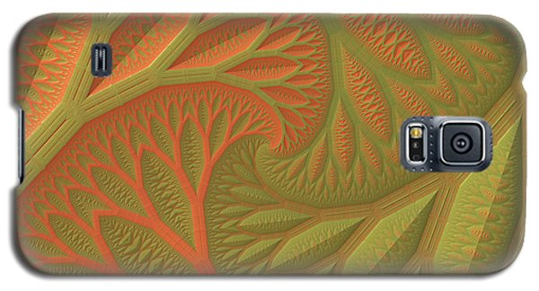 Galaxy S5 Case featuring the digital art Ridges And Valleys by Lyle Hatch