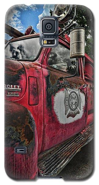 Ridgway Fire Truck Galaxy S5 Case