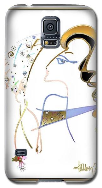 Ridicule - Madame De Blayac Galaxy S5 Case