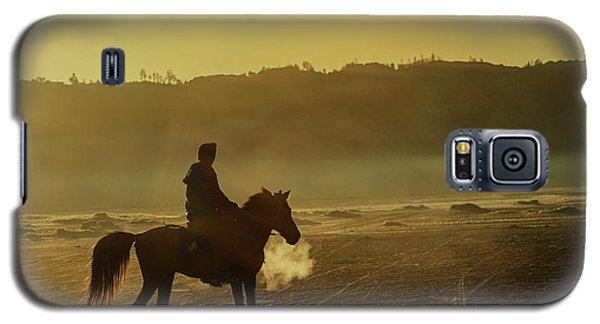 Riding His Horse Galaxy S5 Case