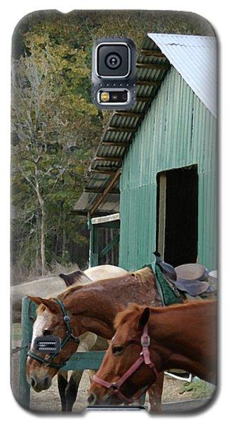 Riding Horses Galaxy S5 Case by Kim Henderson