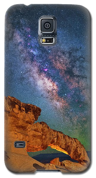 Riding Over The Arch Galaxy S5 Case