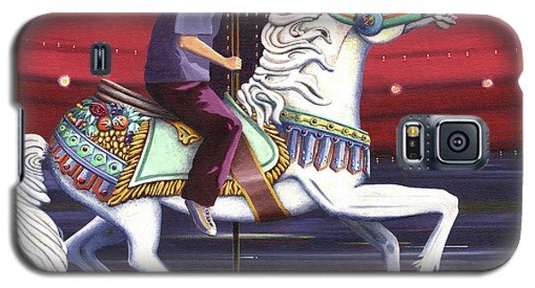 Riding The Carousel Galaxy S5 Case