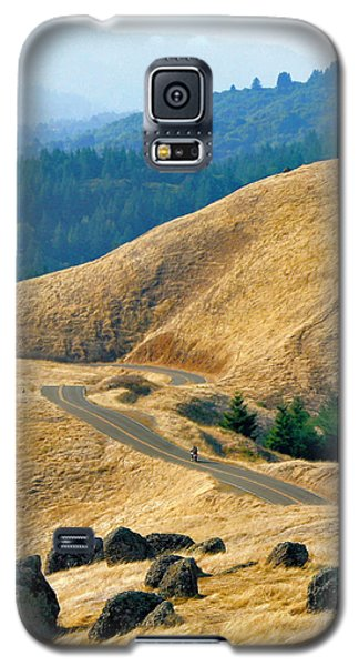 Riding The Mountain Galaxy S5 Case