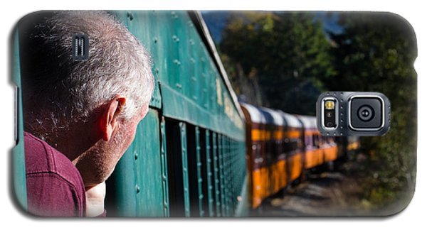 Riding The Train 8x10 Galaxy S5 Case