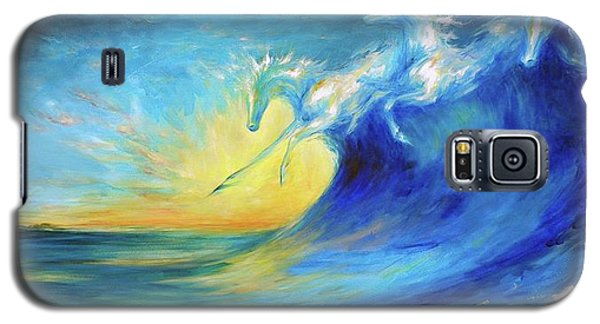 Riding The Waves Galaxy S5 Case by Dina Dargo