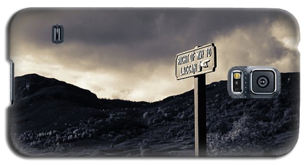 Right Of Way To Laggan Galaxy S5 Case