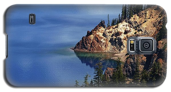 Right Side Of Crater Lake Oregon Galaxy S5 Case
