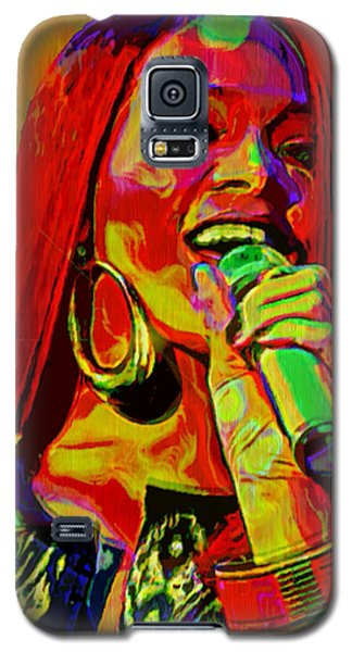 Rihanna 2 Galaxy S5 Case by  Fli Art