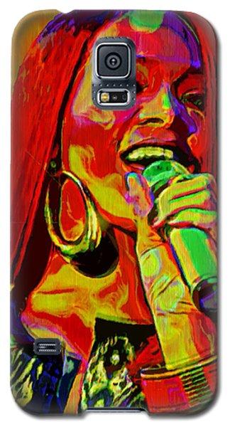 Rihanna 2 Galaxy S5 Case by  Fli Art