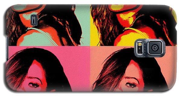 Rihanna Pop Art Galaxy S5 Case