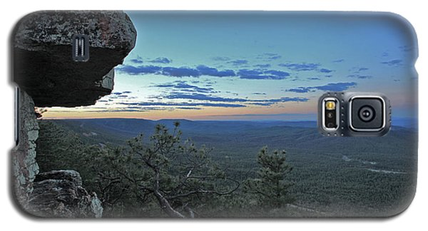 Galaxy S5 Case featuring the photograph Rim Daybreak by Gary Kaylor