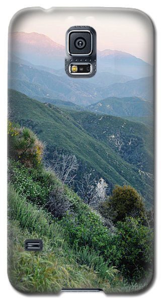 Galaxy S5 Case featuring the photograph Rim O' The World National Scenic Byway II by Kyle Hanson