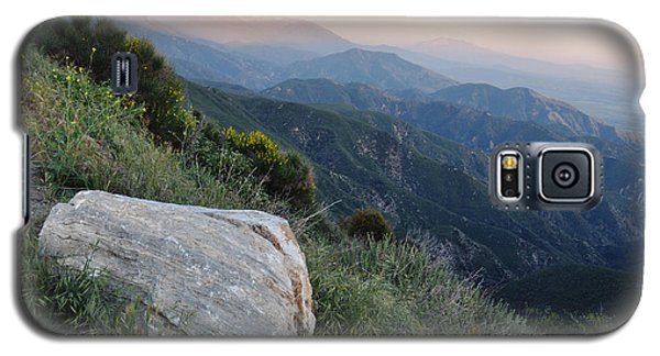 Galaxy S5 Case featuring the photograph Rim O' The World National Scenic Byway by Kyle Hanson