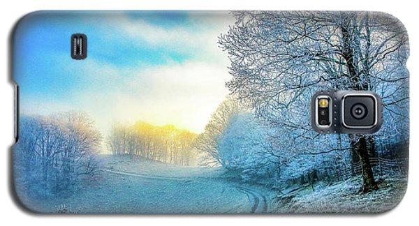 Rime Ice Sunrise Galaxy S5 Case