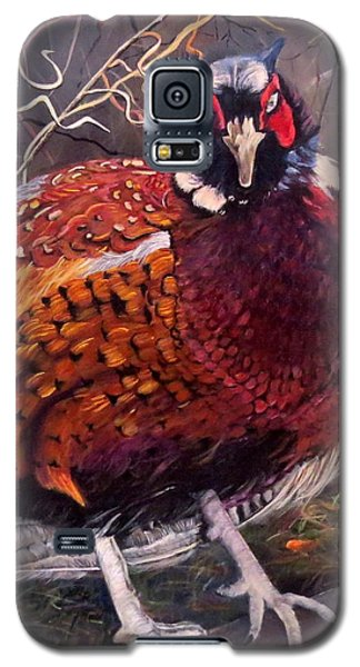 Ring Neck Pheasant Galaxy S5 Case