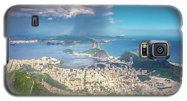 Galaxy S5 Case featuring the photograph Rio De Janeiro by Andrew Matwijec