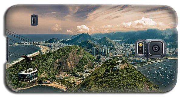 Rio De Janeiro Overlook Galaxy S5 Case by Kim Wilson