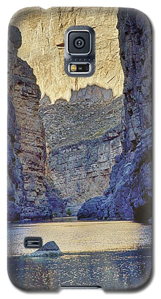 Rio Grand, Santa Elena Canyon Texas 2 Galaxy S5 Case by Kathy Adams Clark