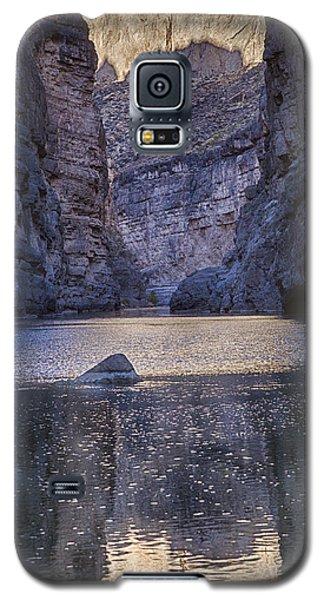 Rio Grand, Santa Elena Canyon Texas Galaxy S5 Case by Kathy Adams Clark