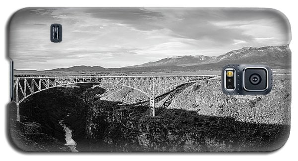 Galaxy S5 Case featuring the photograph Rio Grande Gorge Birdge by Marilyn Hunt