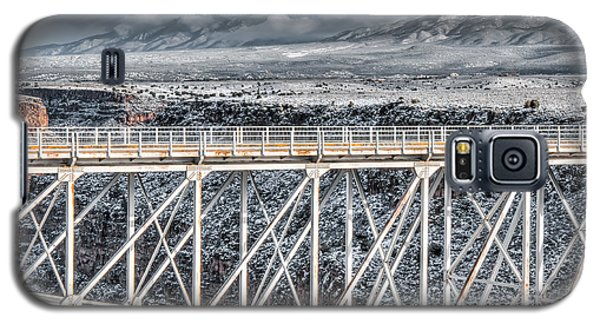 Rio Grande Gorge Bridge #001 Galaxy S5 Case
