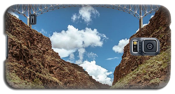 Rio Grande Gorge Bridge Galaxy S5 Case by Britt Runyon