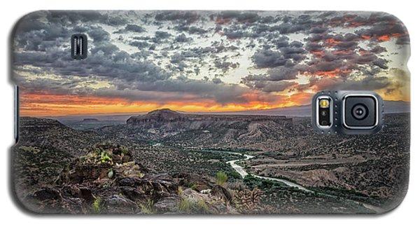 Rio Grande River Sunrise 2 - White Rock New Mexico Galaxy S5 Case