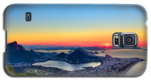Rio Sunrise Galaxy S5 Case