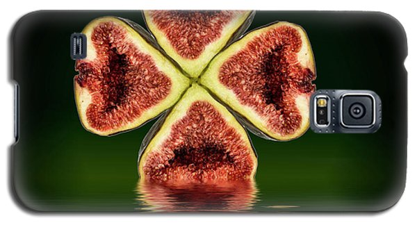 Galaxy S5 Case featuring the photograph Ripe Juicy Figs Fruit by David French