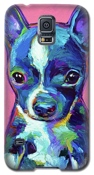 Galaxy S5 Case featuring the painting Ripley by Robert Phelps