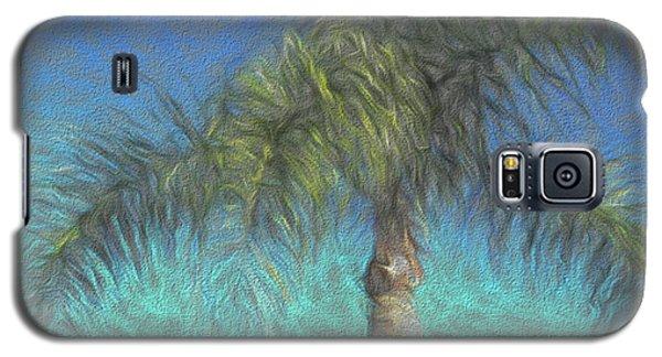 Rippled Palm Galaxy S5 Case