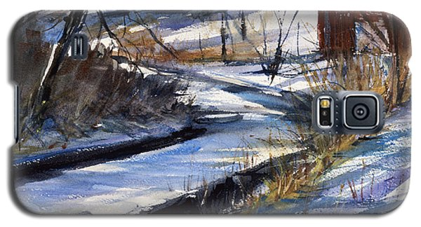 Rippleton Road River Galaxy S5 Case by Judith Levins