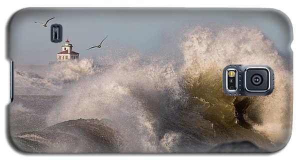 Galaxy S5 Case featuring the photograph Rise Above The Turbulence by Everet Regal