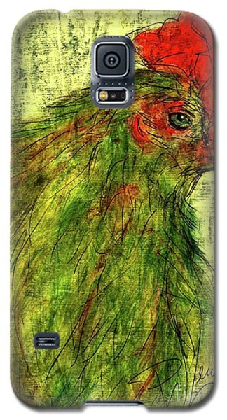 Galaxy S5 Case featuring the drawing Rise And Shine  by P J Lewis