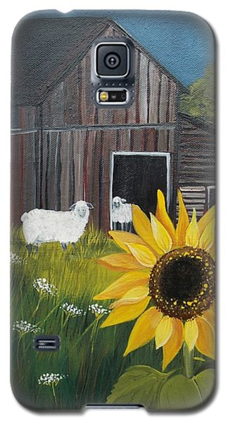 Rise And Shine Galaxy S5 Case by Virginia Coyle