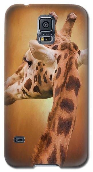 Rising Above - Giraffe Art Galaxy S5 Case
