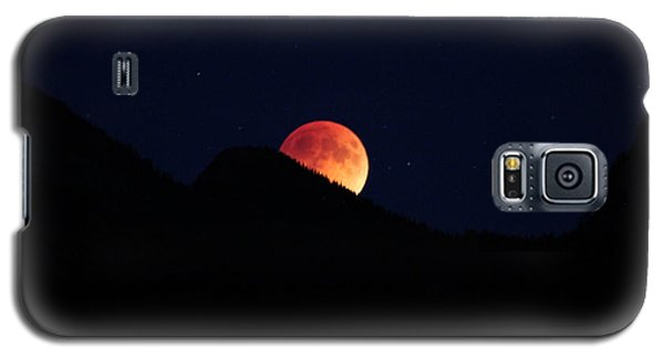 Blood Moon Rising Galaxy S5 Case by Cathie Douglas