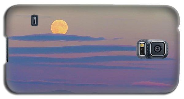 Rising Harvest Moon  Galaxy S5 Case